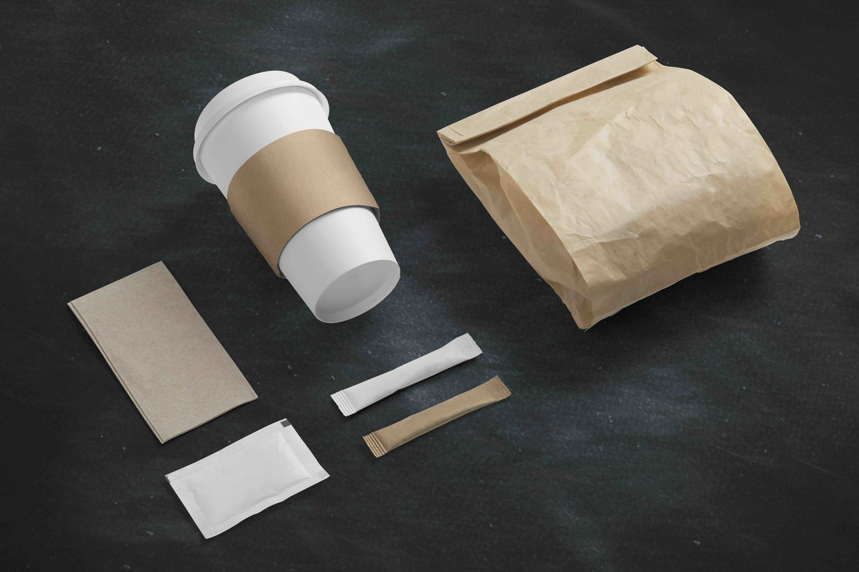 Emballage med tryk